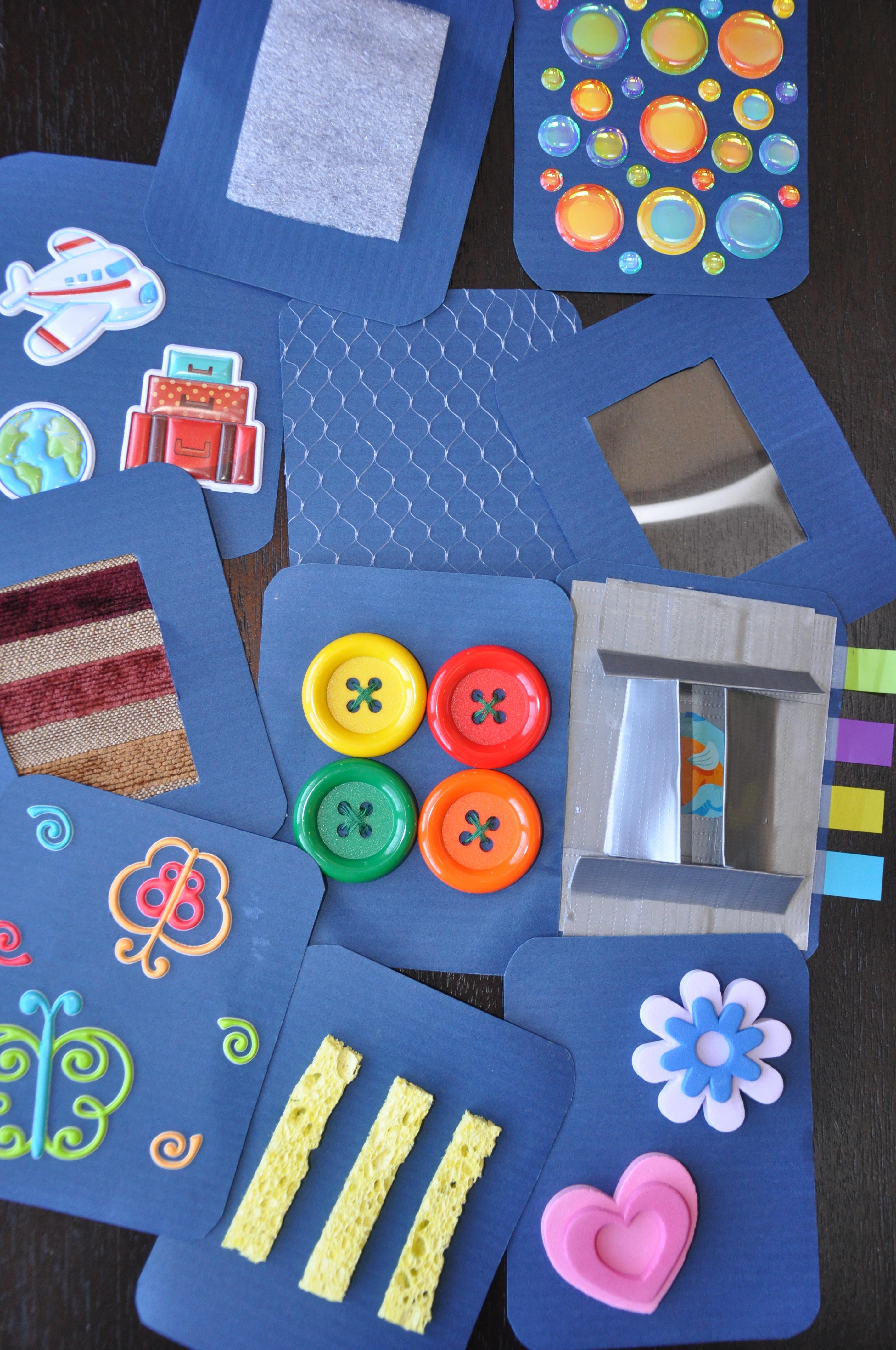 Карточки для ребенка своими руками