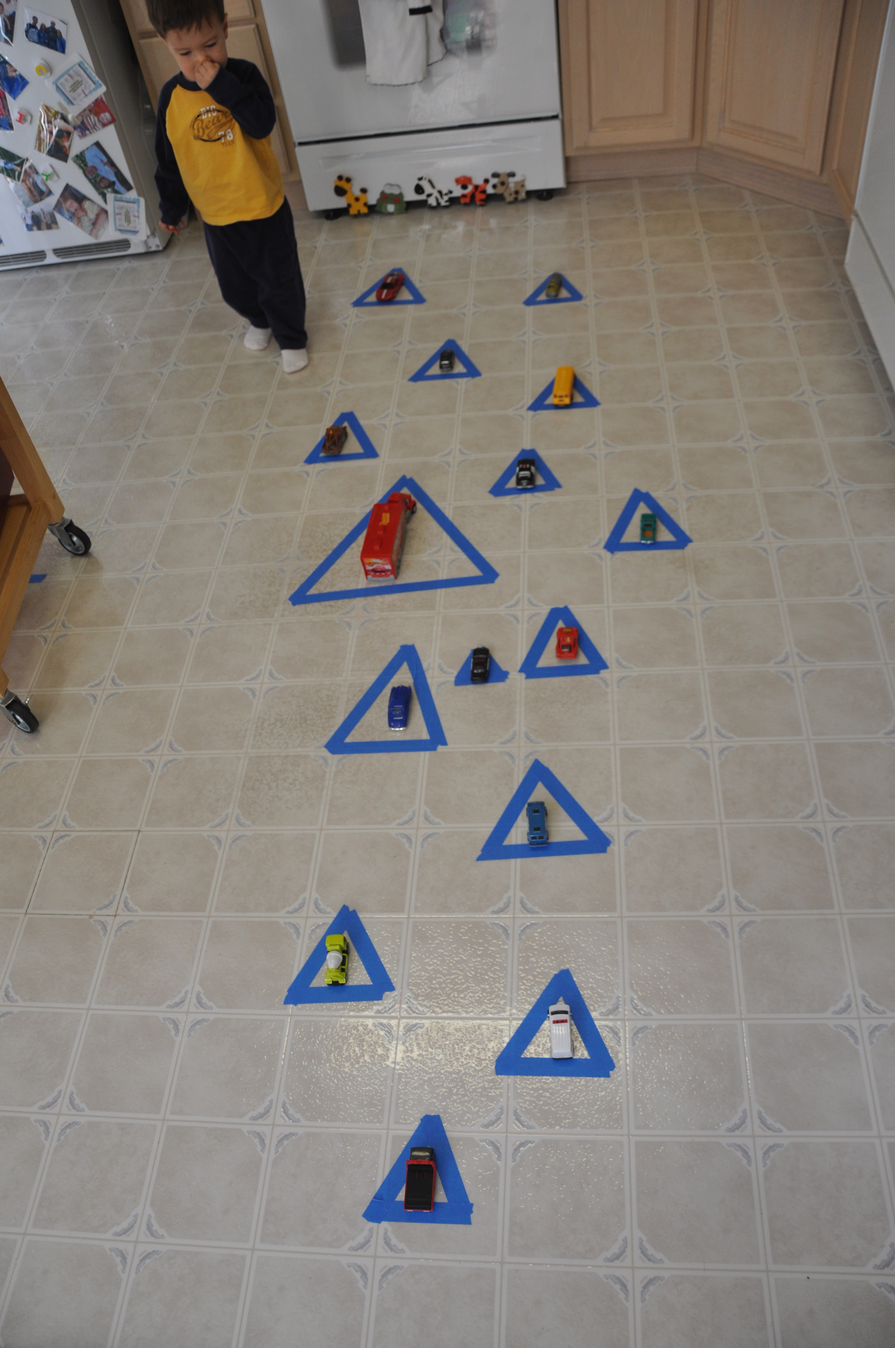 Triangles: Learning Activities for Shapes - Love to Laugh ...
