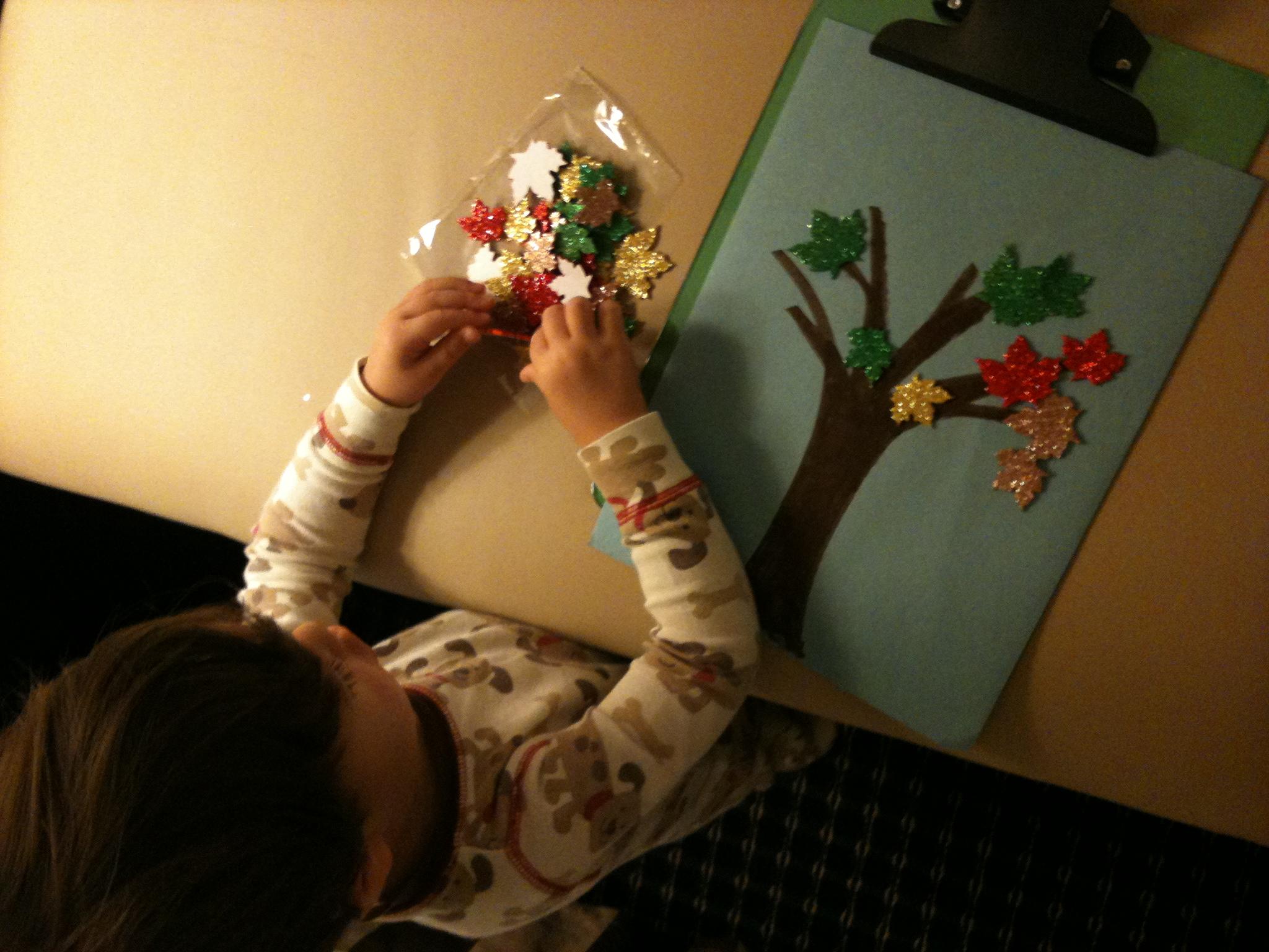 Autumn Toddler Activities
