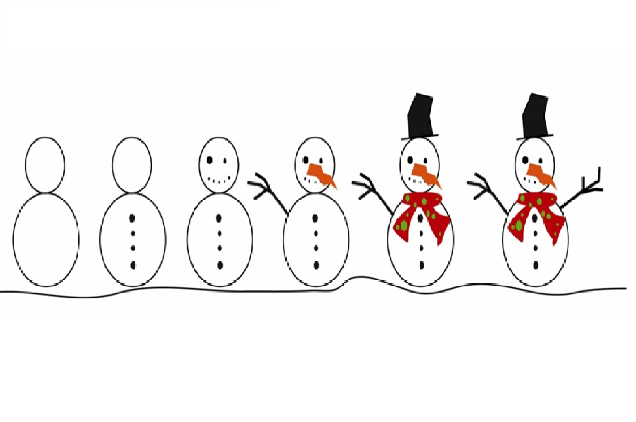Alfa img - Showing > Making Snowman Sequencing Activity