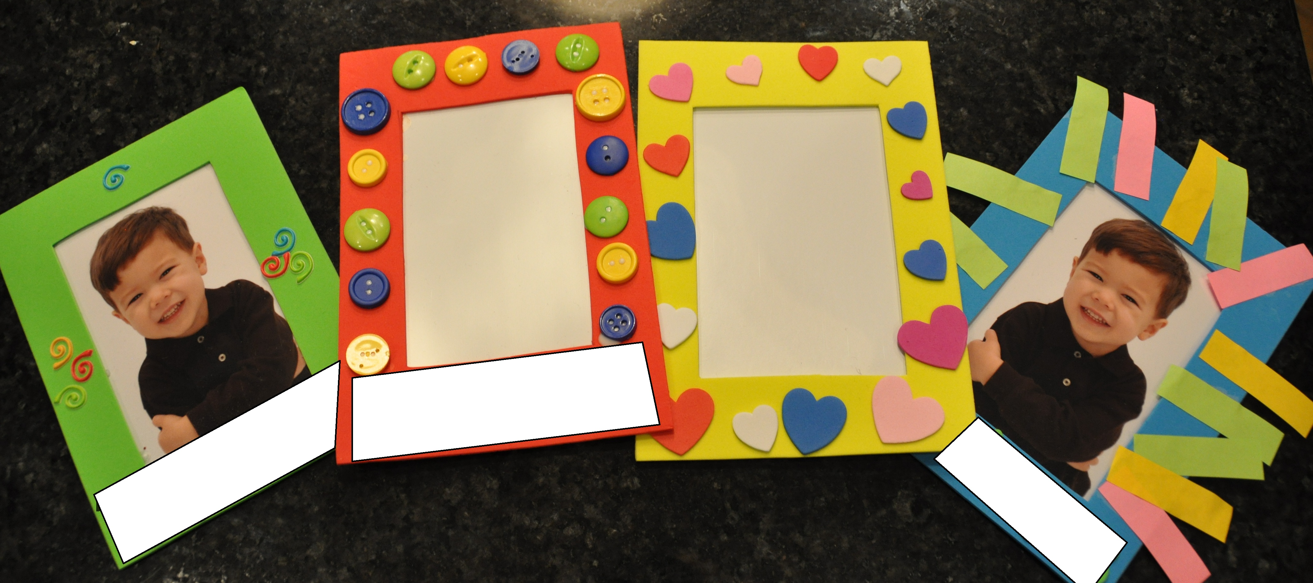 Unique toddler Homemade Picture Frame Ideas pilation