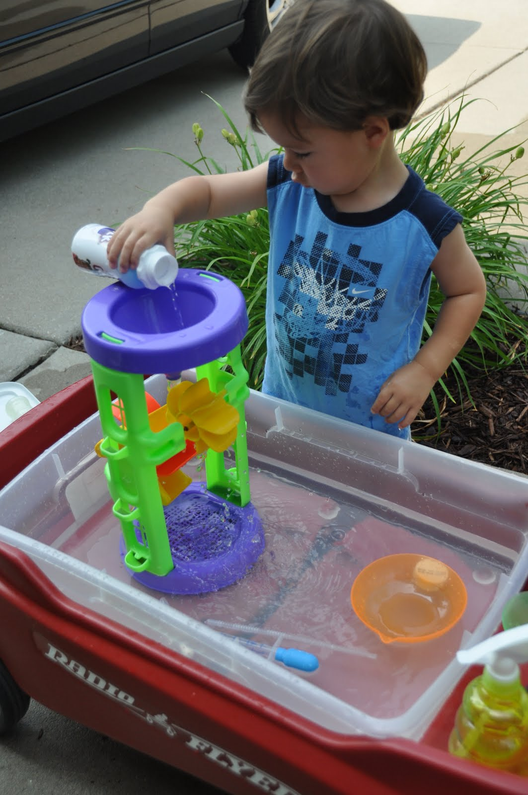 Homemade Water Table